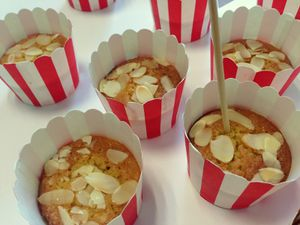 Muffins amandes noisettes