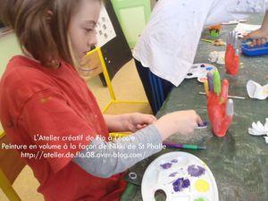 Les jeunes artistes et leurs peintures