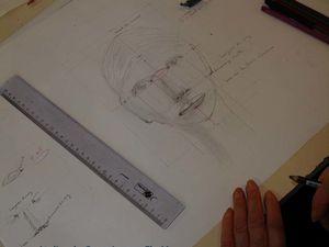 Atelier sur le portrait avec les Peintres Beaumontois