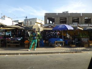 Les rues de Dakar