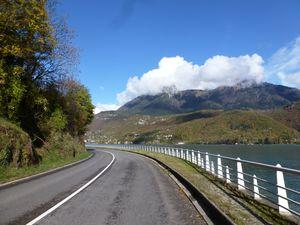 9 novembre 2013 - Tour du lac d'Annecy depuis la maison