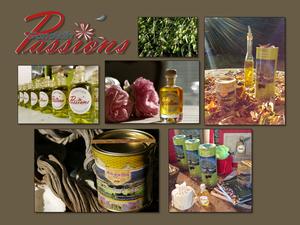 Nathalie Gandelin nous a fait découvrir sa fameuse huile d'olive qu'elle rapporte de l'est de la Crète.