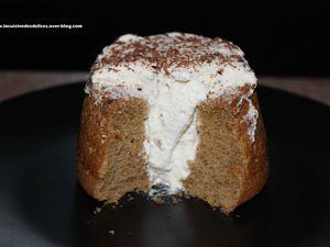 ANGEL CAKE INDIVIDUEL AU CAFE