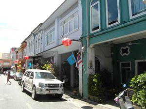 Rues du vieux Phuket