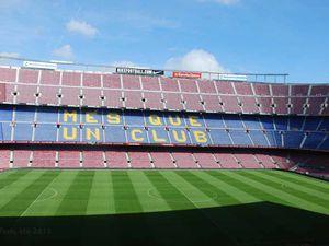 Au Camp Nou...