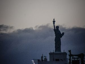 Et oui il y a aussi une statue de la liberté à Osaka
