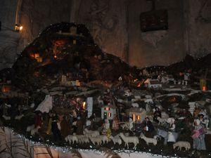 Crèches d'églises à Sommières, St Genies des Mourgues
