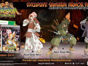 Trois collectors pour le prochain Naruto Revolution