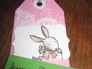 Etiquettes pour Pâques
