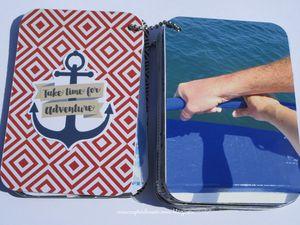 Un mini et sa pochette d'une balade en mer... Pour la Compagnie des elfes