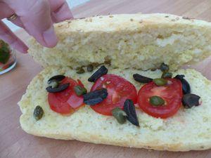 Sandwich Chaud Le Sicilien
