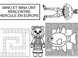 Le carnet de voyage de Mino et Mina