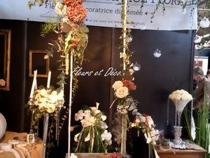 Décorations mariage lors du salon du mariage à Valence édition 2015