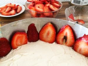 Stawberry Cake Diy
