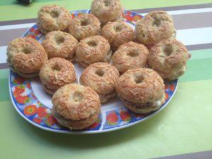 Bagels aux rillettes de thon