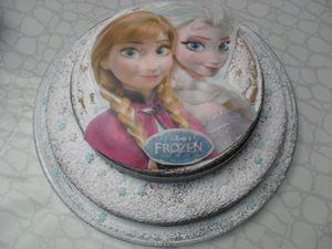 Pour un anniversaire 100 % Reine des neiges {#Deco}{#ReineDesNeiges}{#Leblogdemamanlulu}