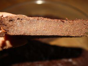 Gâteau au chocolat (et au légume vert...)