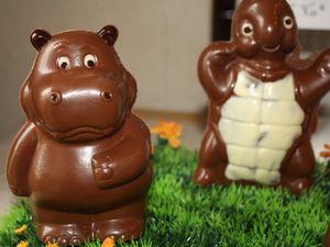 Visite de &quot&#x3B;la boîte à chocolat&quot&#x3B; à Rueil-Seraincourt (95)