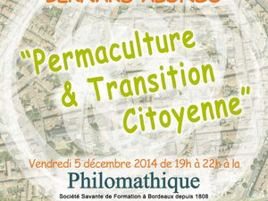 PERMACULTURE &amp&#x3B; TRANSITION CITOYENNE