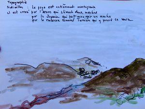 A Sidiailles, à la plage : la lecture, l'art, la culture