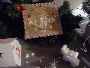 suite des préparatifs de Noël