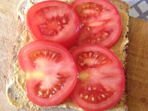Croque tomates / moutarde  �