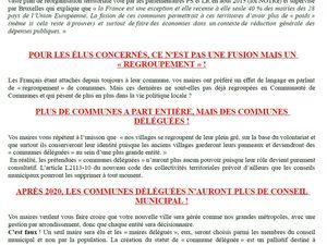 JUINE ET RENARDE : NON A LA FUSION DE LARDY ET DE BOURAY S/ JUINE !