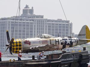 Un P-47D Thunderbolt s'est abîmé dans l'Hudson river