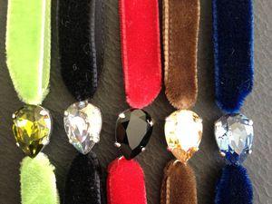 Tutoriel / DIY Bracelet velours
