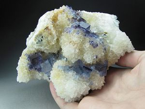 Fluorine Quartz de Bingham New Mexico