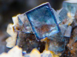 Fluorite (Fluorine) from Okorusu, Namibie (size: Museum)