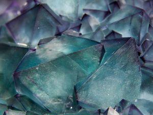 Fluorite (Fluorine) octahedron (Octoédre) from De'an Mine, Jiangxi, China (size: Museum XL)