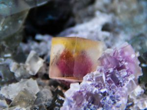 Fluorite (Fluorine) from Okorusu Mine, Otjiwarongo Region, Karibib District, Namibia