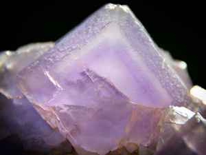 Old Fluorite with Phantoms from Berbes, Spain