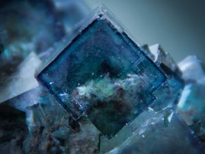 Fluorite (Fluorine) from Okorusu Mine, Otjiwarongo Region, Karibib District, Namibia (size: Small Cabinet)