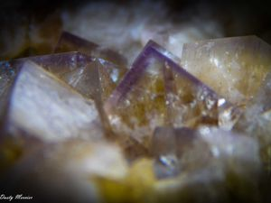 Fluorite from Greenlow Mine, Weardale, Durham, England UK