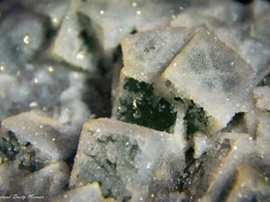 Fluorite Quartz from China