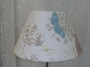 Abat-jour Conique &quot&#x3B;Les Papillons