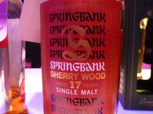 Le Springbank 12 CS batch 10 et le Springbank 17 ans Sherry Wood