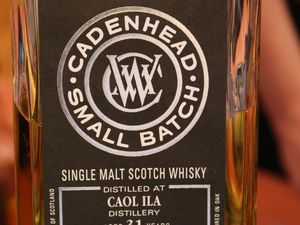 Face à face: Caol Ila 31ans Cadenhead's Small Batch VS Caol Ila 32 ans Cadenhead's Small Batch