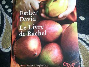 Le livre de Rachel de Esther David