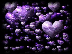 que du violet...