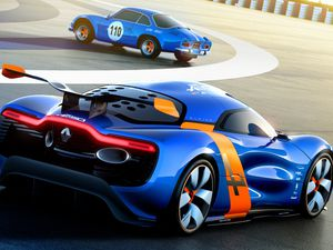 Alpine concept, ready to be commercialized in 2015