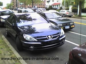 Peugeot 607 in the USA