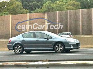 Peugeot RCZ at the Detroit Motor Show - Peugeot 407 Sedan on the NJ Turnpike