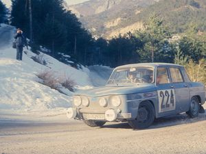 Renault R8 Gordini Rallye Monte-Carlo