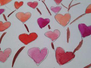 """Les très grandes """"lettres""""des ados, Masques de Carnaval, St Valentin et Keith Haring."""