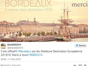 Bordeaux: European Best Destination 2015