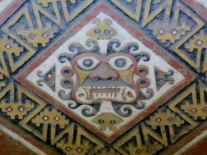 Fresques du temple de la lune.