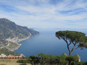 La côte Amalfitaine et ses paysages grandioses.